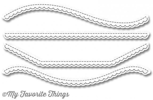My Favorite Things - Die-namics Stitched Scallop Basic Edges 2