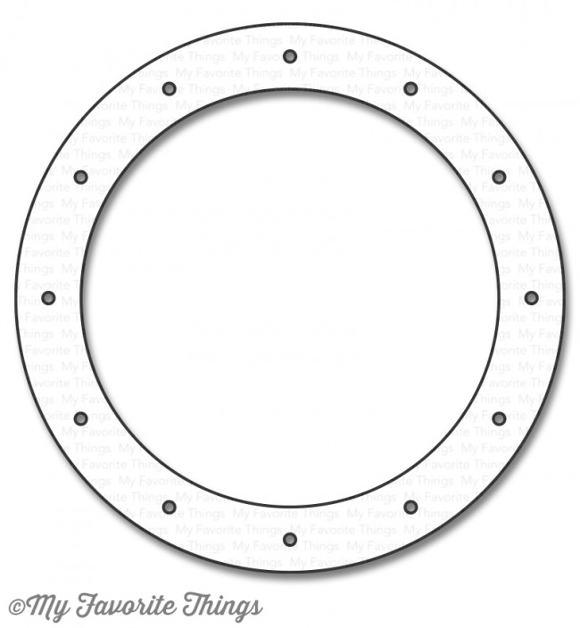 My Favorite Things - Die-namics Ocean View Porthole