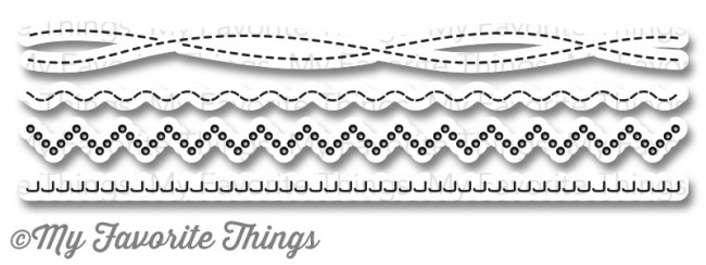 My Favorite Things -  Homespun Stitch Lines Die-namics