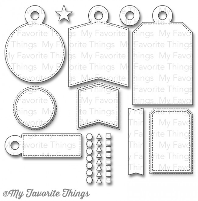 My Favorite Things - Die-namics Tag Builder Blueprints 4