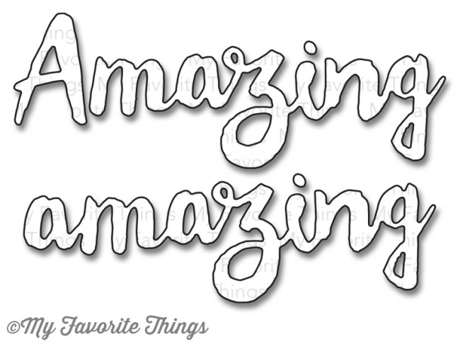 My Favorite Things - Die-namics Doubly Amazing
