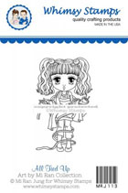 Whimsy Stamps - All Tied Up - Art by MiRan