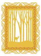 Presscut Cutting and Embossing Stencils - Woodland