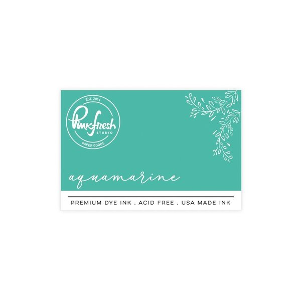 *NEW* - Pinkfresh Studio - Premium Dye ink Pad : Aquamarine