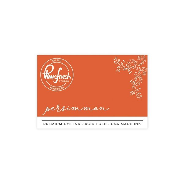 *NEW* - Pinkfresh Studio - Premium Dye ink Pad : Persimmon