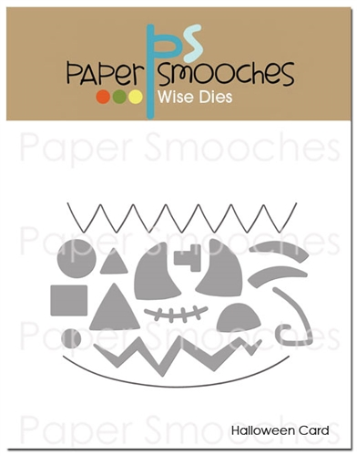 *NEW* - Paper Smooches - Halloween Card Dies