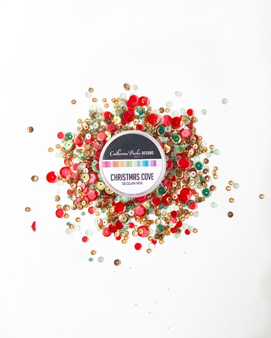 *NEW* - Catherine Pooler - Christmas Cove Sequin Mix