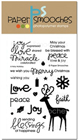 * XMAS *Paper Smooches - STAMPS - A Holy Holiday