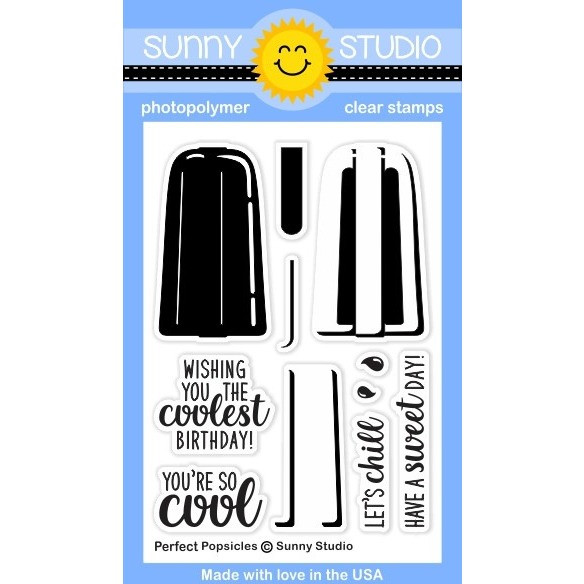 *NEW* - Sunny Studio - Perfect Popsicles Stamps