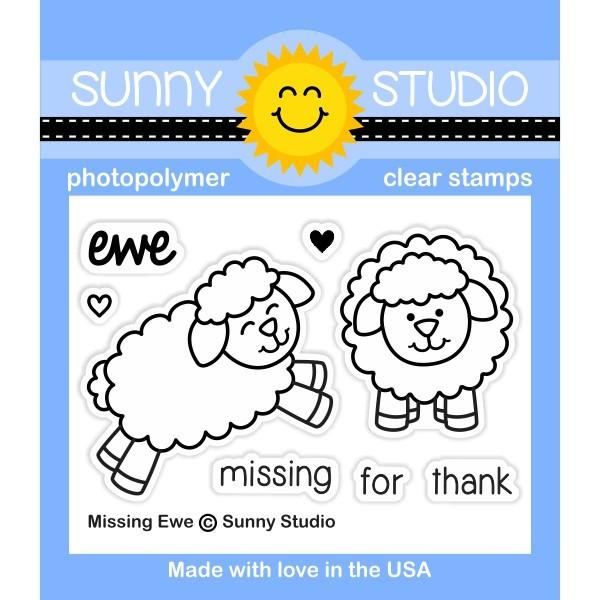 *NEW* - Sunny Studio - Missing Ewe Stamps