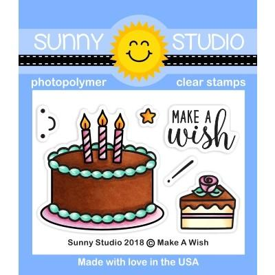 *NEW* - Sunny Studio - Make A Wish Stamps