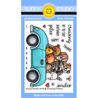 Sunny Studio - Cruising Critters Stamps
