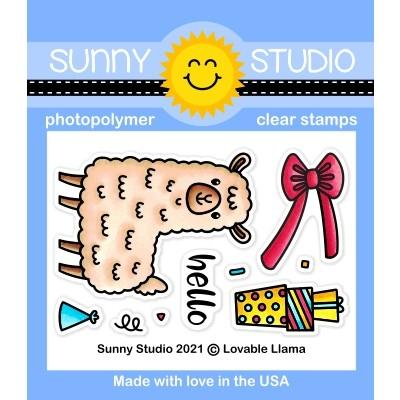 *NEW* - Sunny Studio - Lovable Llama Stamps
