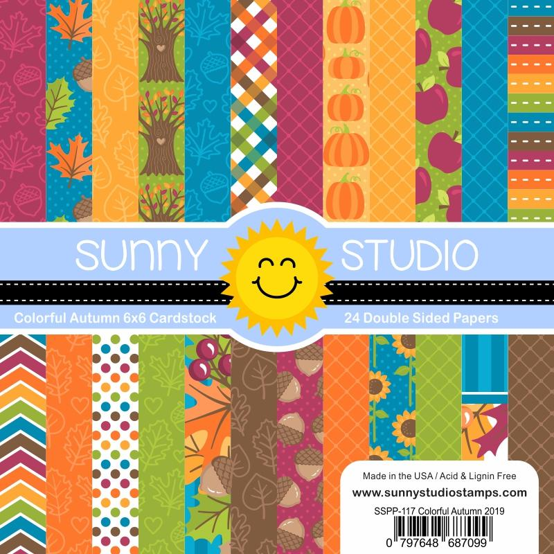 Sunny Studio - Colorful Autumn Paper