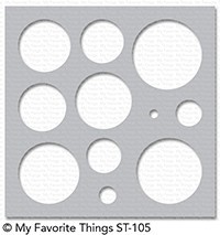 *NEW* - My Favorite Things - Stencil Basic Shapes - Circles