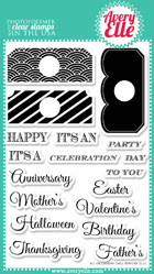 ##Avery Elle- All Occasion Tags Clear Stamps