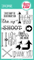 ##Avery Elle- Aim High Clear Stamps