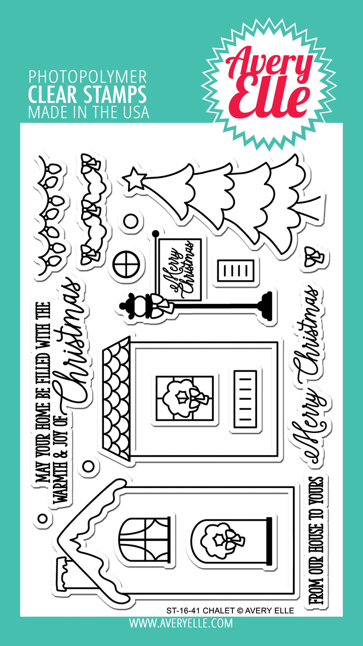 Avery Elle - Chalet Clear Stamps