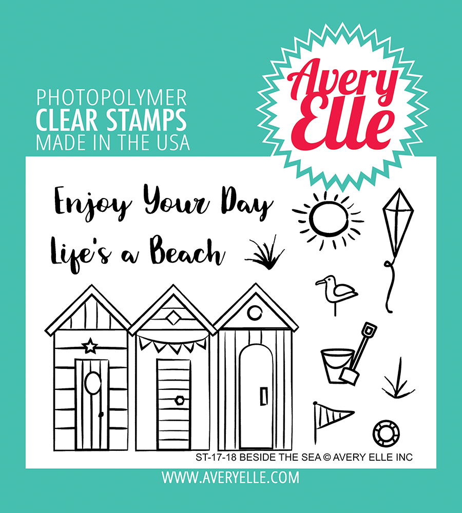 Avery Elle - Beside the Sea Clear Stamps