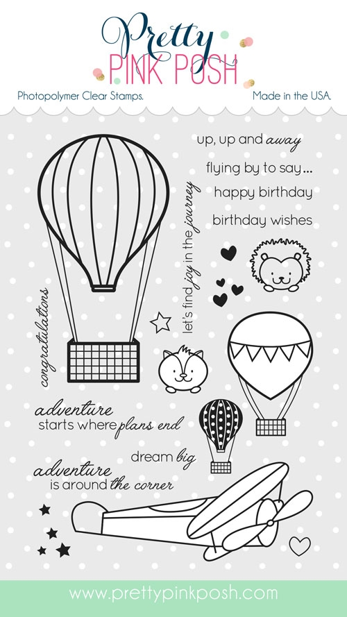 ** Pretty Pink Posh - Fly Away Friends stamp set