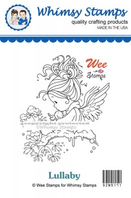 Whimsy Stamps - Wee Stamps - Lullaby - Wee Stamps