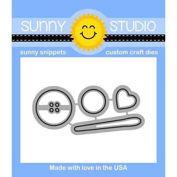 *NEW* - Sunny Studio - Cute As A Button Dies