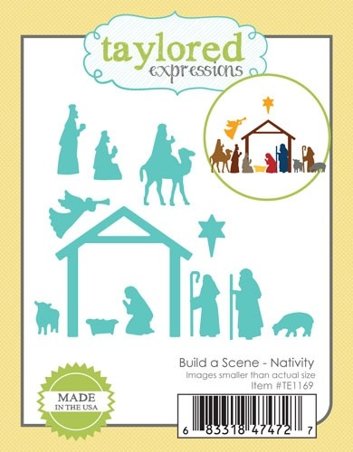 *NEW* - Taylored Expressions - Build a Scene - Nativity