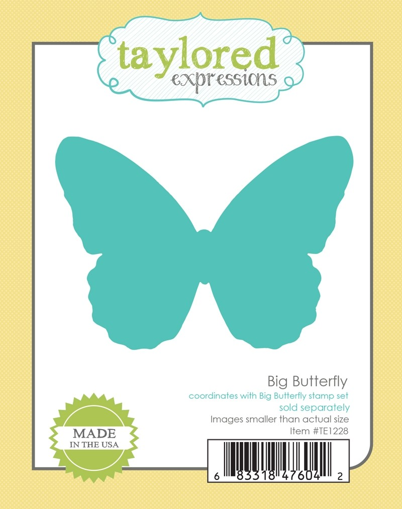 *NEW* - Taylored Expression - Big Butterfly Die