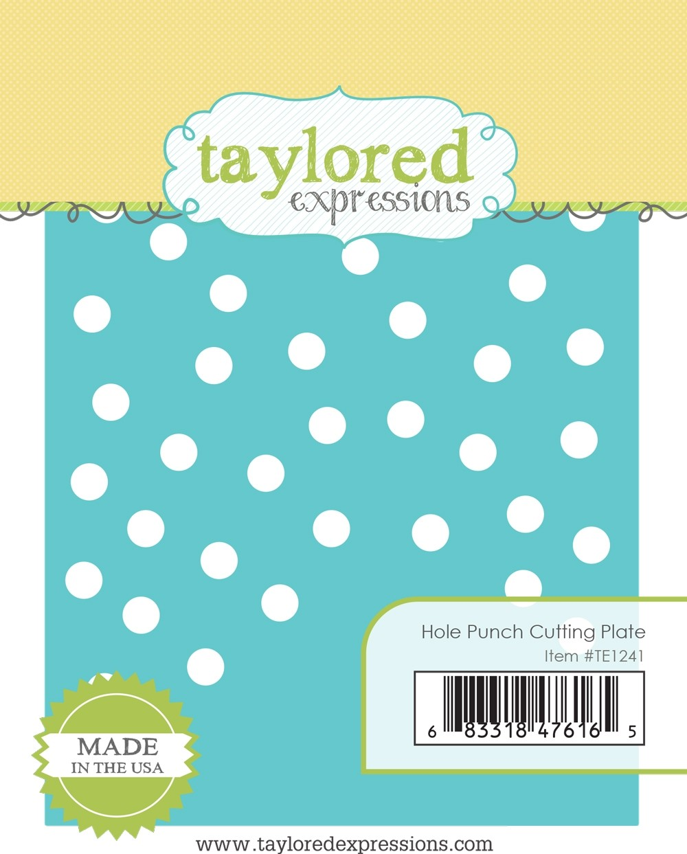 Taylored Expression - Hole Punch Cutting Plate