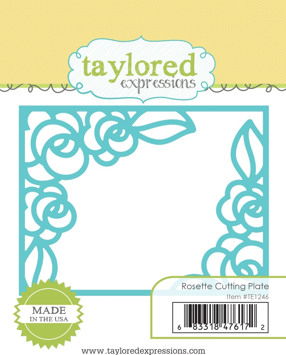 Taylored Expression - Rosette Cutting Plate