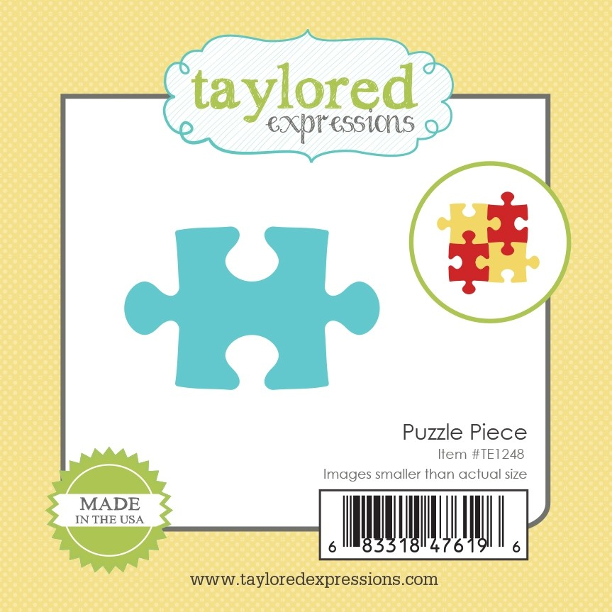 Taylored Expression - Little Bits - Puzzle Piece