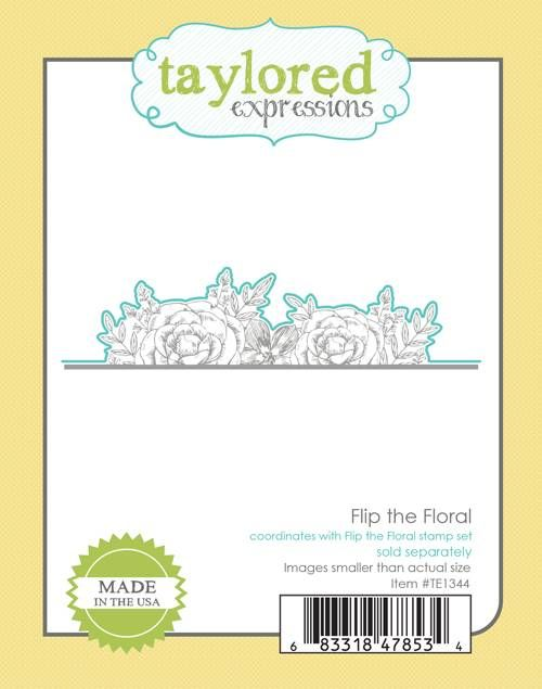 Taylored Expression - Flip the Floral Die