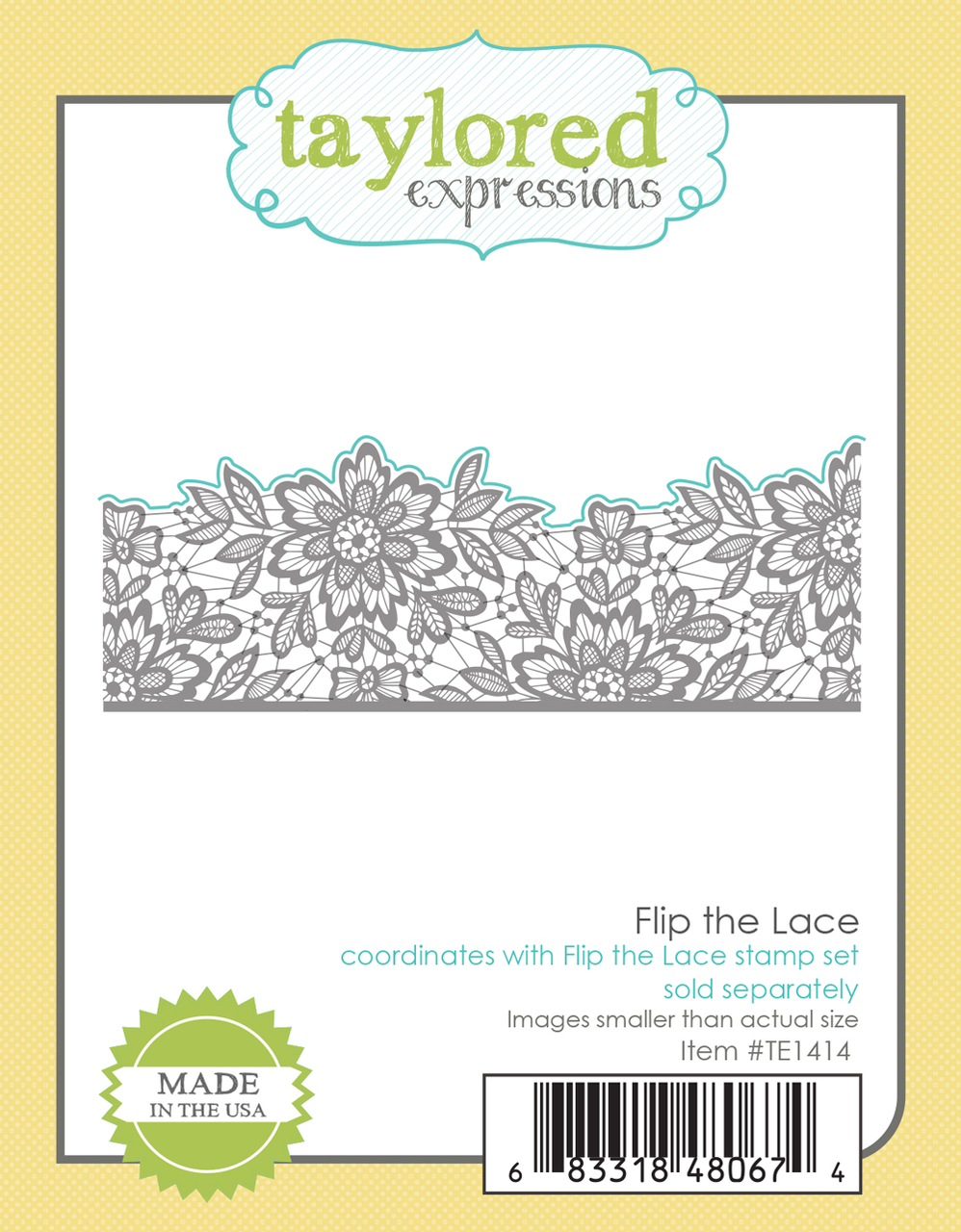 Taylored Expression - Flip the Lace Die