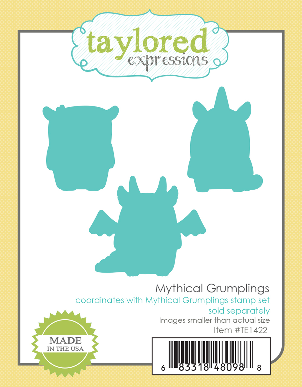 *NEW* - Taylored Expression - Mythical Grumplings - Dies