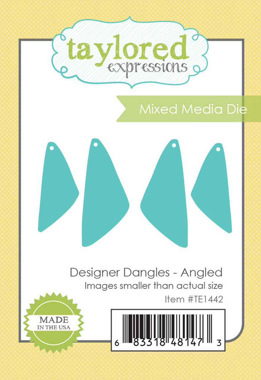 *NEW* - Taylored Expression - DESIGNER DANGLES - ANGLED