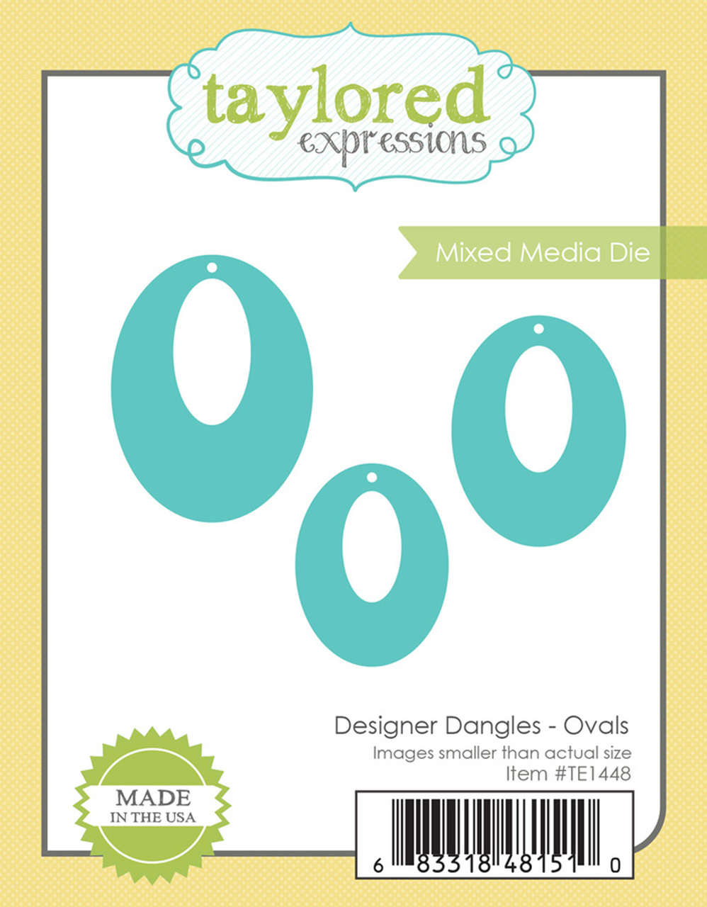 *NEW* - Taylored Expression - DESIGNER DANGLES - OVALS
