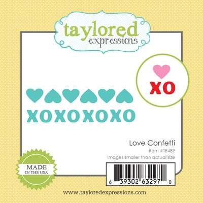 Taylored Expressions - Little Bits - Love Confetti