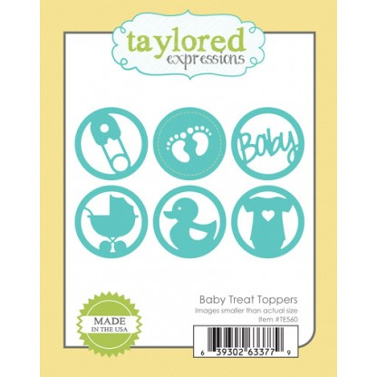 Taylored Expressions - Baby Treat Toppers