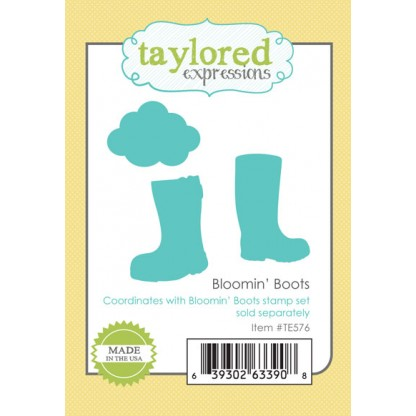 Taylored Expressions - Bloomin' Boots Dies