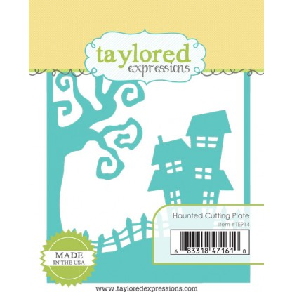 Taylored Expressions- Haunted Cutting Plate