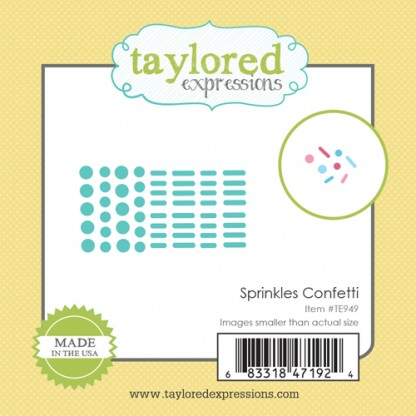 Taylored Expressions- Little Bits - Sprinkles Confetti