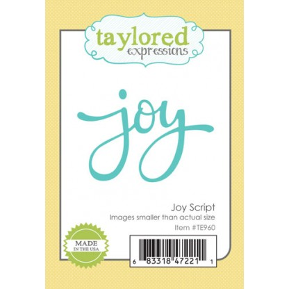 Taylored Expressions- Joy Script