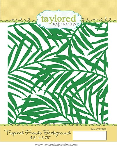 Taylored Expression - Tropical Fronds Background
