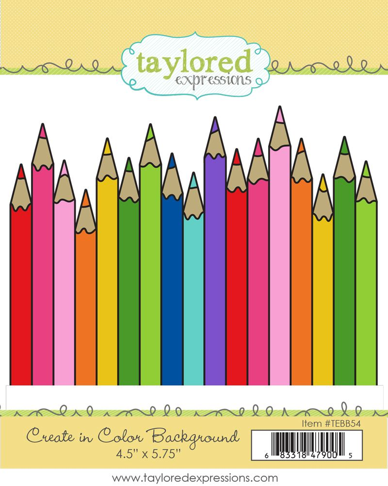Taylored Expression - Create in Color Background