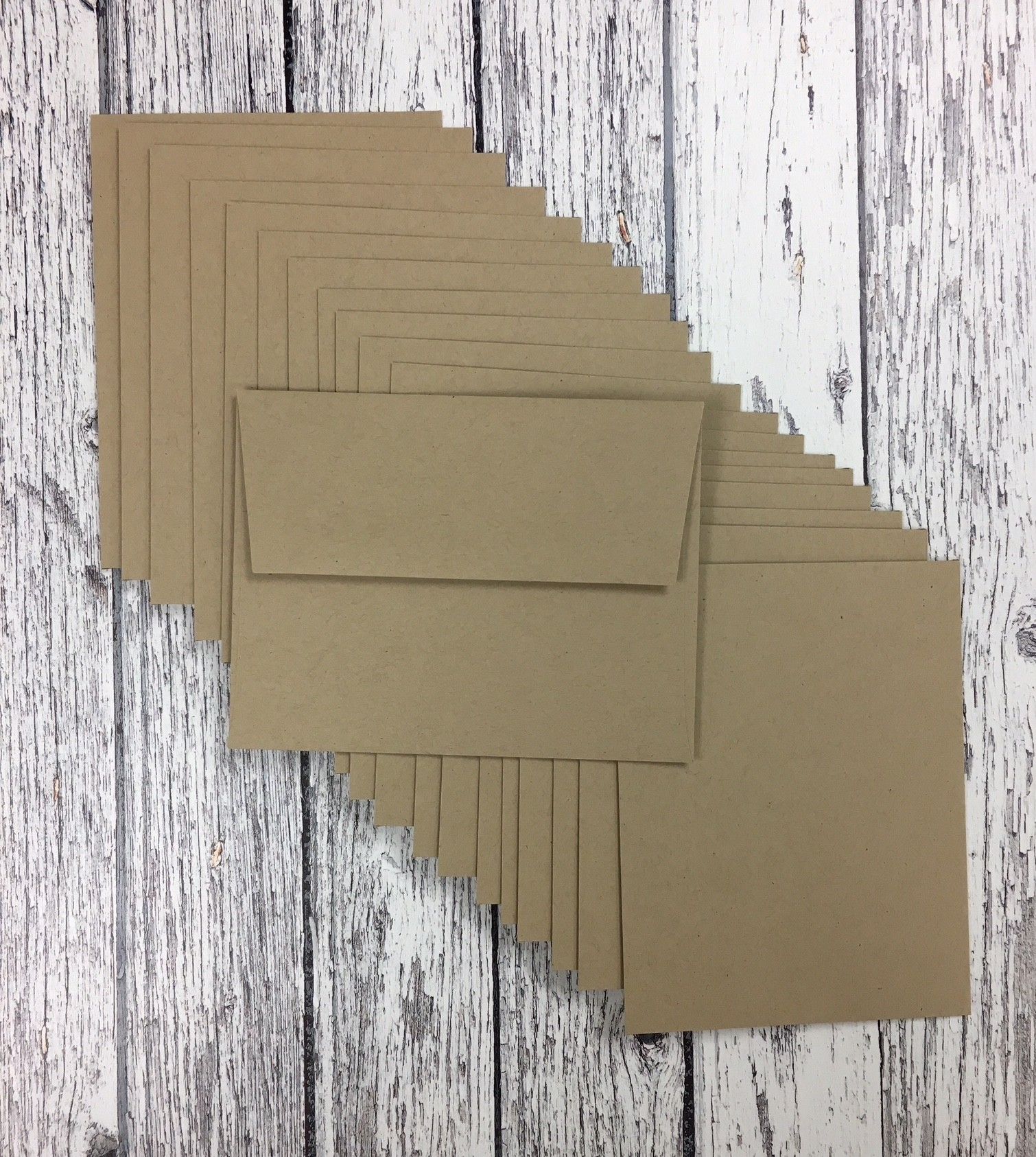 *NEW* - Taylored Expressions - A2 Envelopes - Toffee  - pack of 10