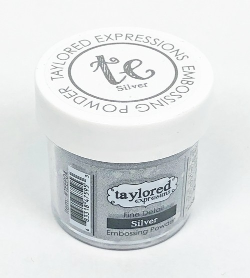 Taylored Expression - TE Fine Detail Embossing Powder - Silver