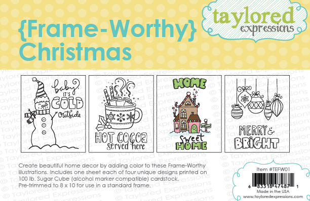 *NEW* - Taylored Expressions - {Frame-Worthy} Christmas