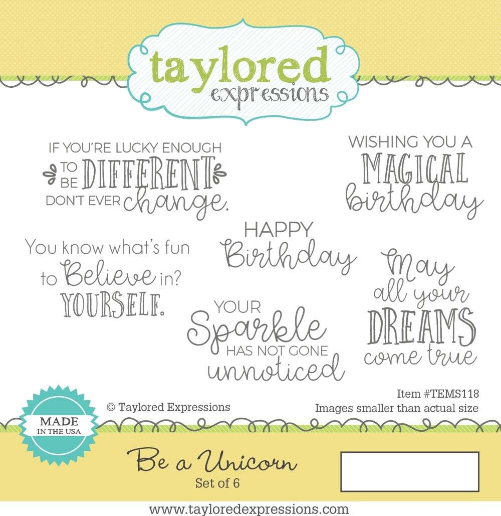 *NEW* - Taylored Expression - Be a Unicorn