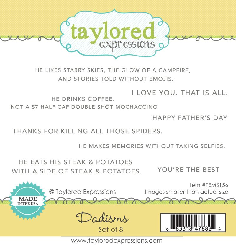 Taylored Expression - Dadisms