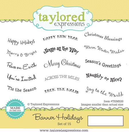 Taylored Expressions - Banner Holidays